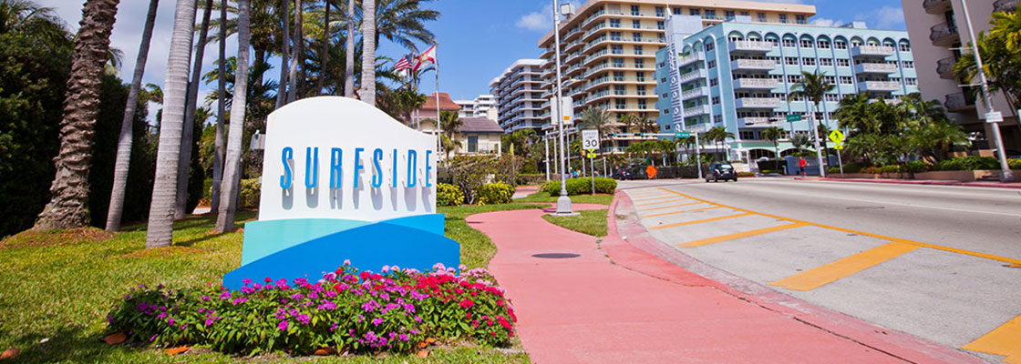 Welcome to Surfside Marker along the Roadside - photo courtesy of Jacober Creative