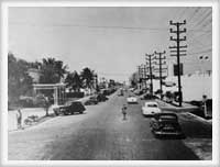 Downtown Surfside, 1950