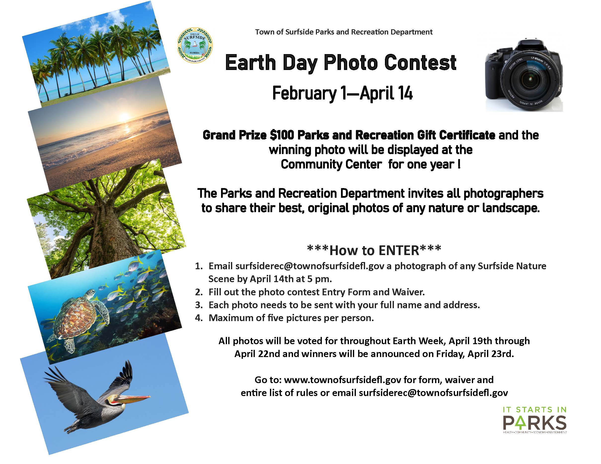 photo contest flier horizontal 2nd version