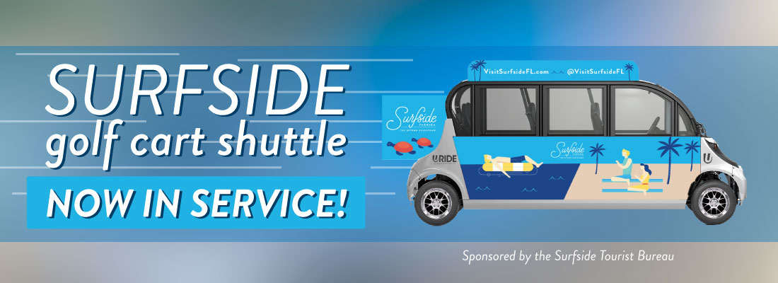 Surfside Golf Cart Shuttle Available January and February