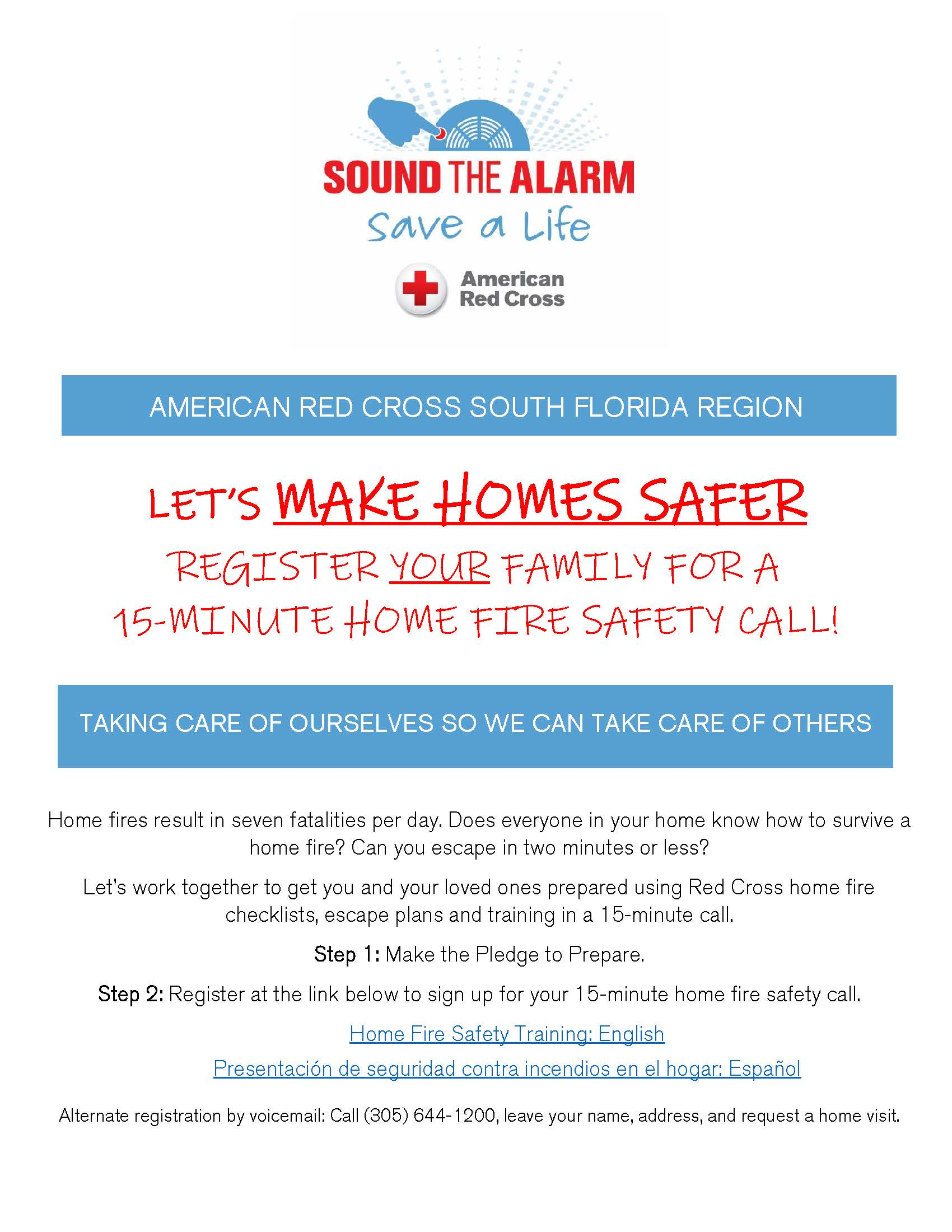 schedule a virtual call for home fire safety tips with the American Red Cross